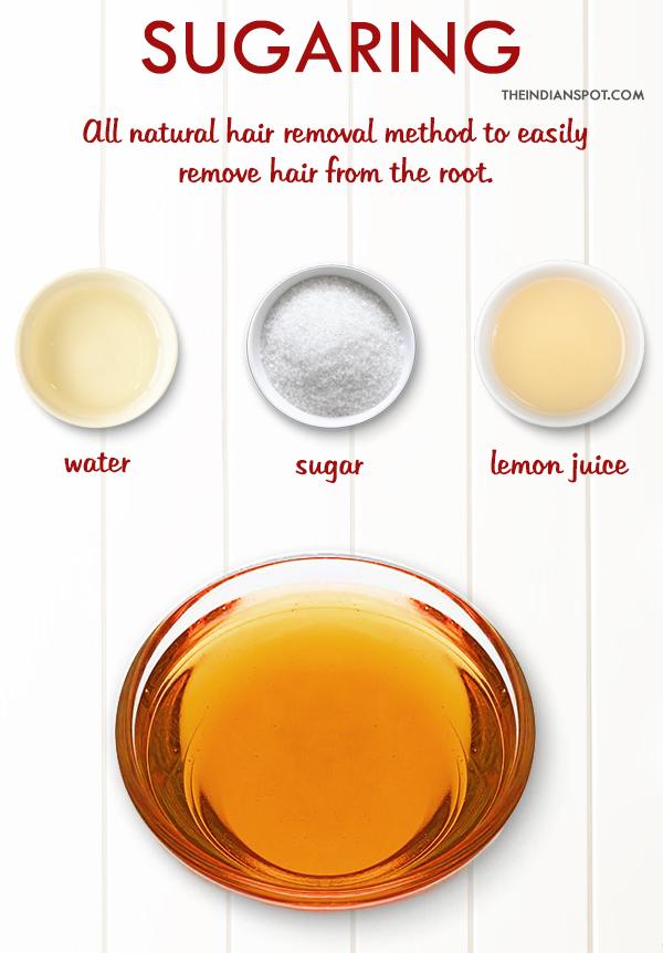 Sugaring - Sugar Wax Hair Removal at home