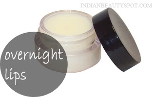 Overnight Lips with Coconut Oil for smooth lips