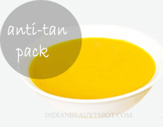Natural Sun Tan Removal Face Pack