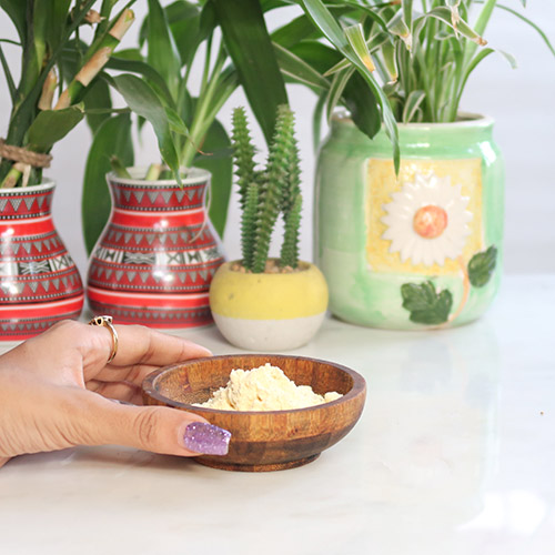 Brighten Your Skin with Gram Flour