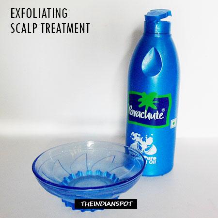 Natural Exfoliating Scalp Treatment