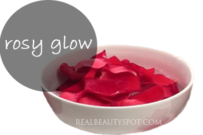 Rosy Glow with Rose Water
