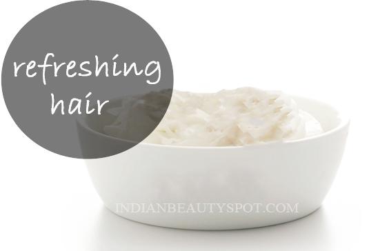 Refreshing Yogurt Hair Mask