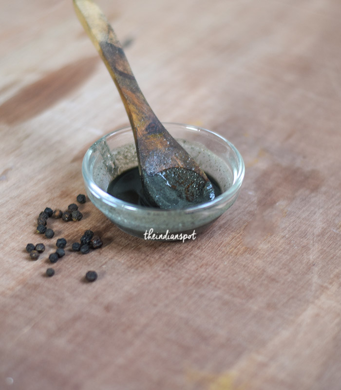Clear Stubborn Blackheads with pepper