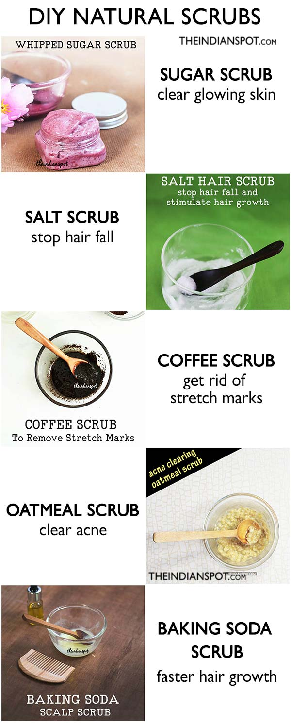 Top natural scrubs for smooth, soft skin and healthy hair