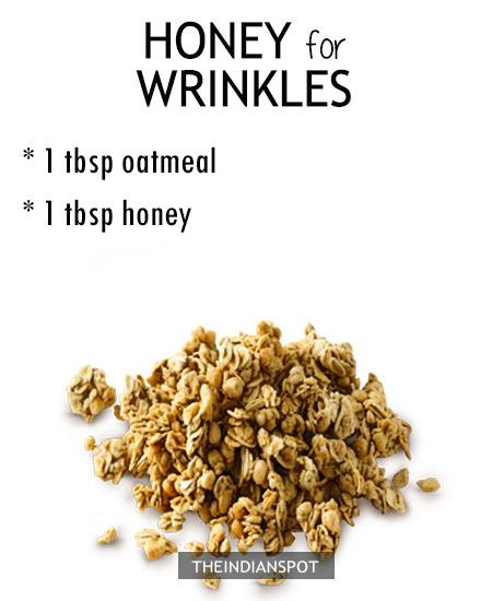 HONEY FOR WRINKLES