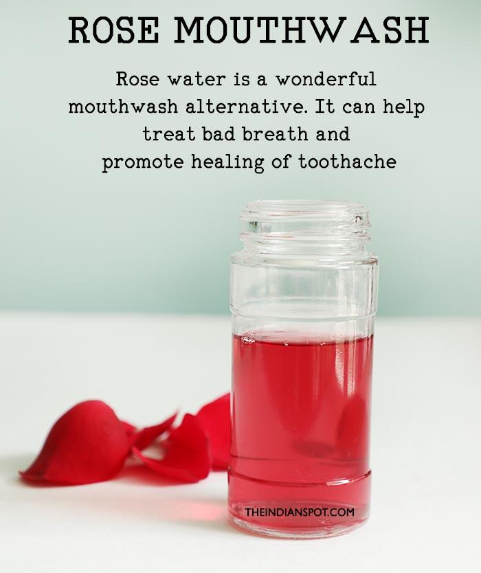 ROSE WATER MOUTHWASH