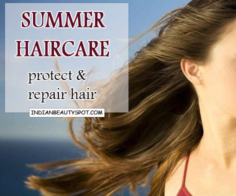 Summer haircare tips