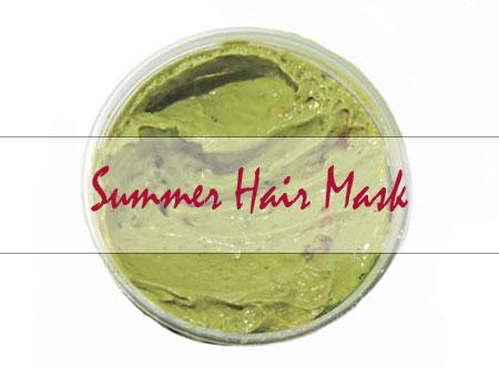 summer hair mask