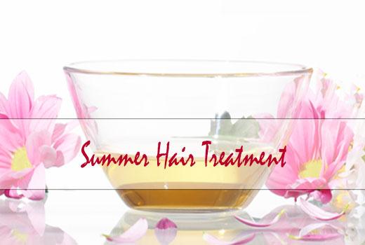summer hair treatment