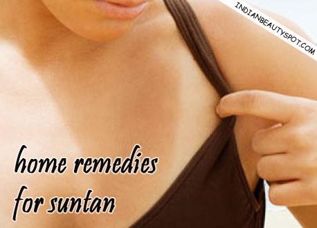 Suntan remedy