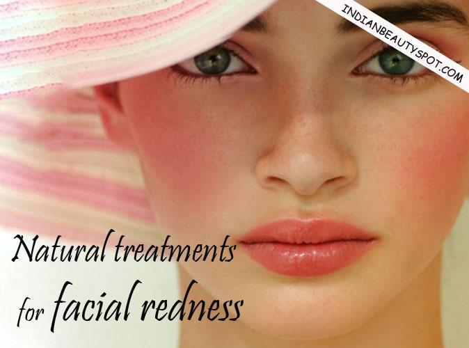 facial redness for Treatment