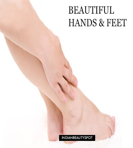 Beautiful Hands and Feet naturally