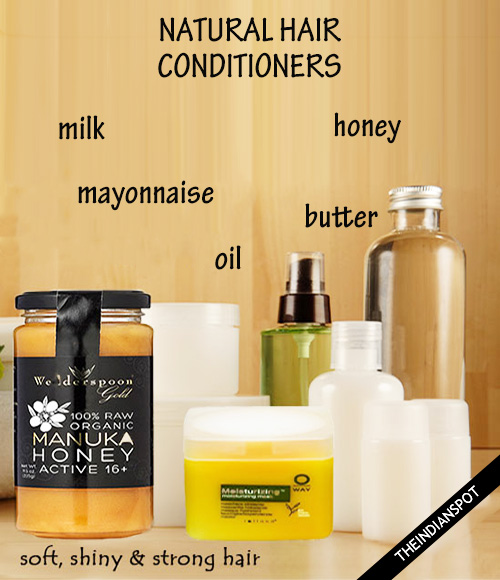 Best Natural Hair conditioners for soft, shiny and strong hair