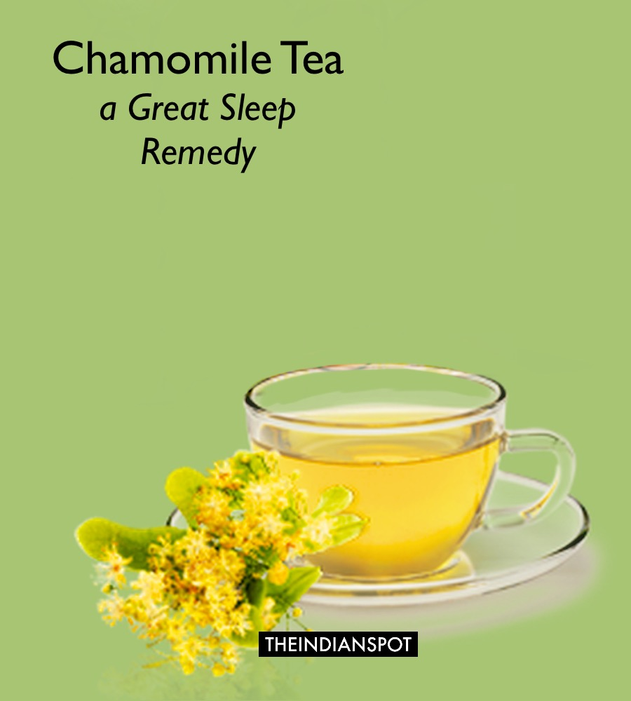 chamomile tea a natural remedy for sleep