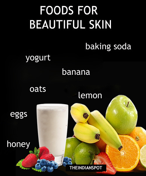 Top 10 Foods To Put On Your Face For Beautiful Skin The Indian Spot