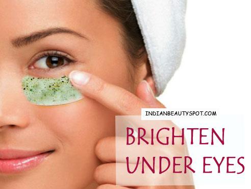 Brighten Under Eyes With Eye Masks The Indian Spot