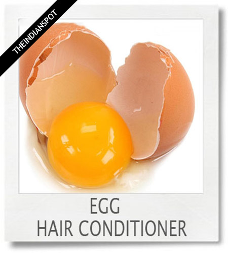 1). Egg Hair conditioner:
