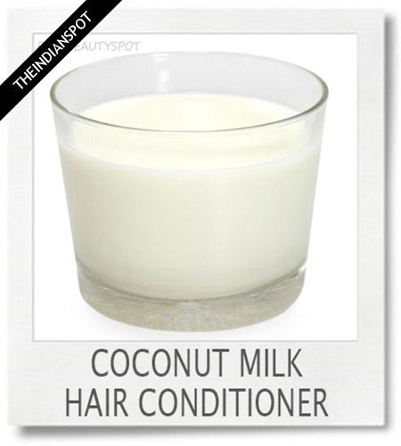 Coconut Milk Hair Conditioner