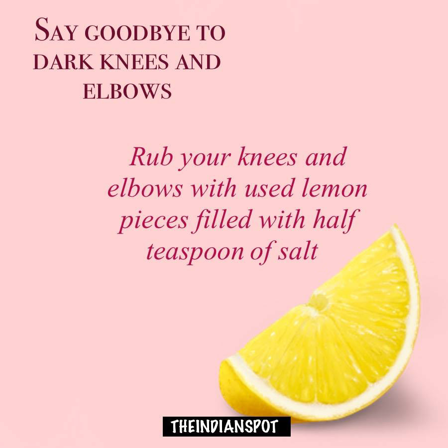 Treat Dark Knuckles, Elbows And Knees at home
