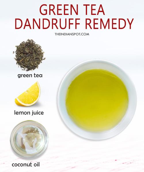 Green tea Dandruff Remedy