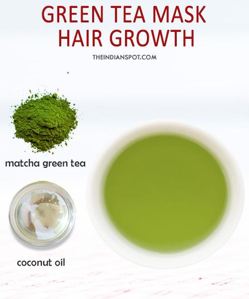Green Tea Hair Growth Mask
