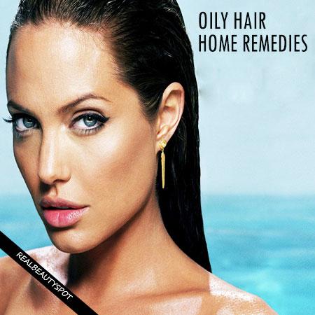 Oily hair home remedies