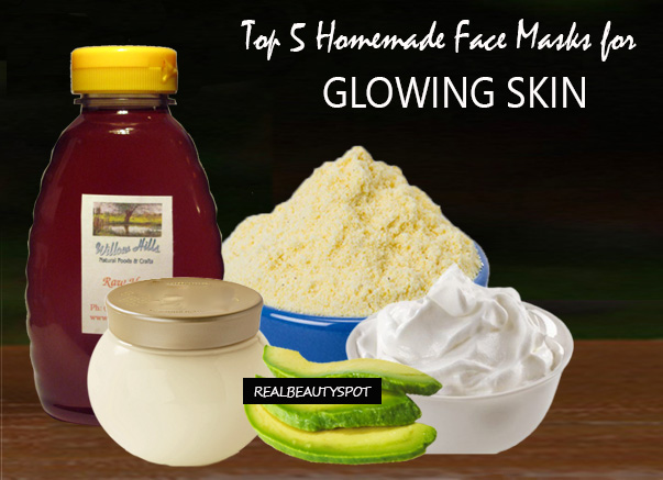 Top 5 Homemade Face Masks for Glowing Skin