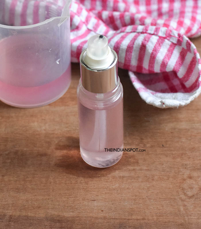 Natural antiperspirant deodorant Spray