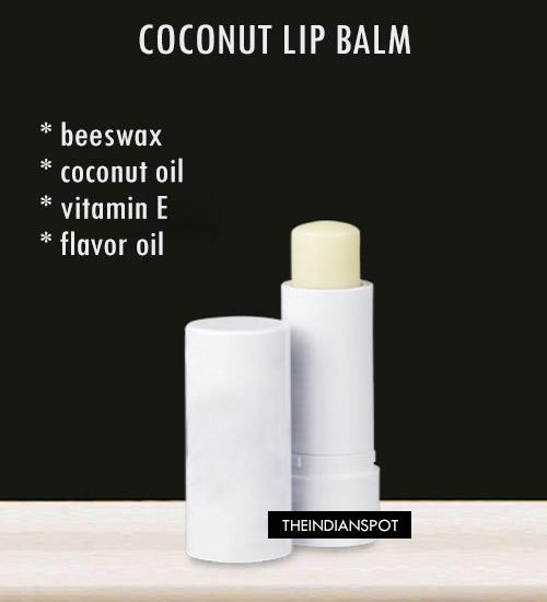 Coconut Lip Balm: