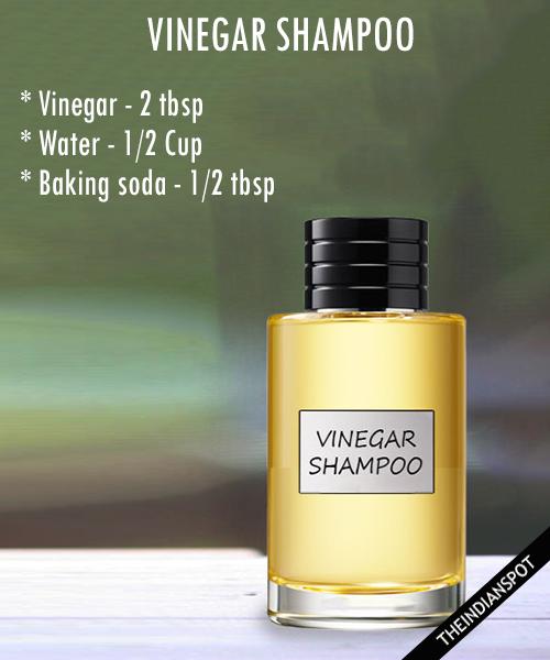 Vinegar Shampoo - anti dandruff shampoo: