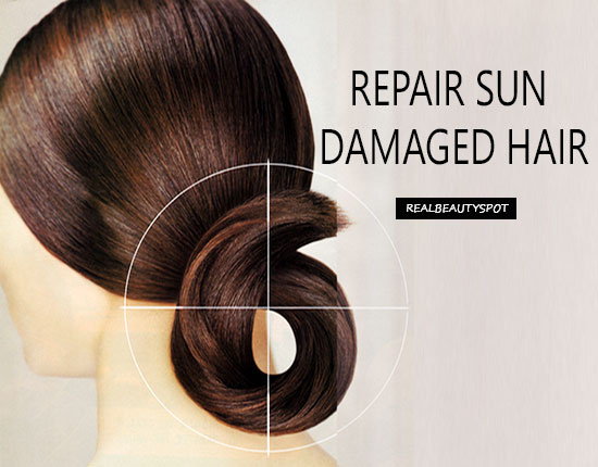 Natural Remedies To Repair Sun Dry Damaged Hair The Indian Spot