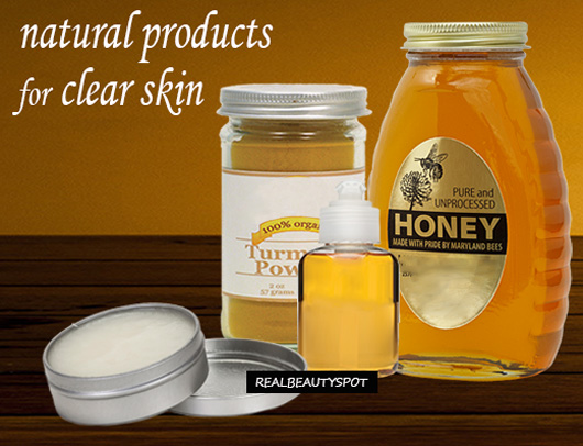 Get Clear blemish free Skin with natural products