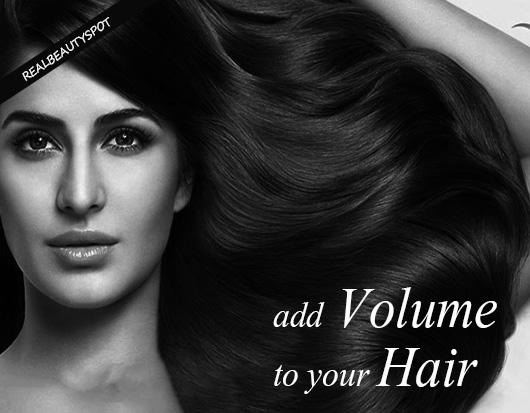 How To Add Volume To Hair The Indian Spot