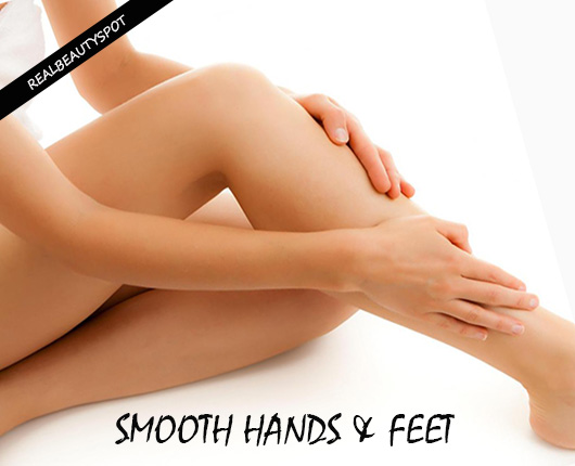 Remedies to treat dry, rough hands and feet