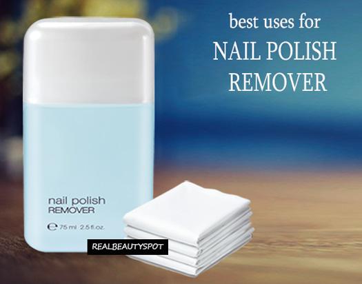 Extraordinary Uses For Nail Polish Remover