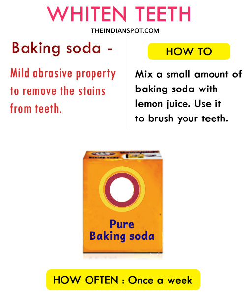 Top Home Remedies To Whiten Teeth At Home The Indian Spot