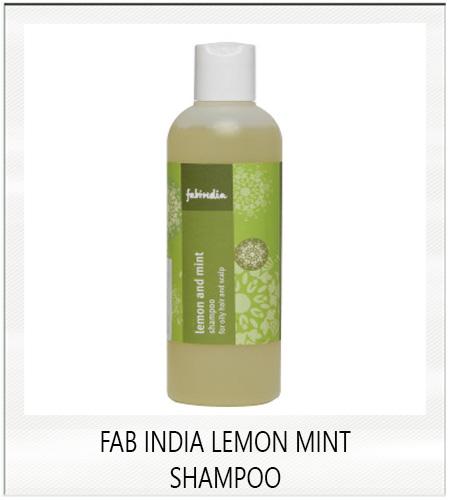 Fab India Lemon Mint Shampoo For Hair