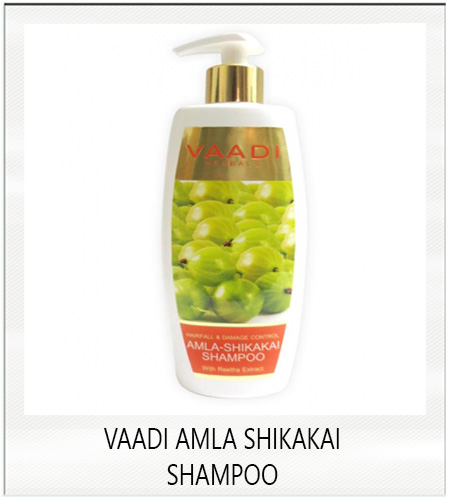 Vaadi amla shikakai shampoo for hair fall and damage control