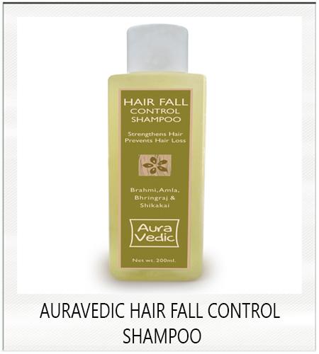 Auravedic hair fall control shampoo with bhringraj , amla , bramhi and shikakai
