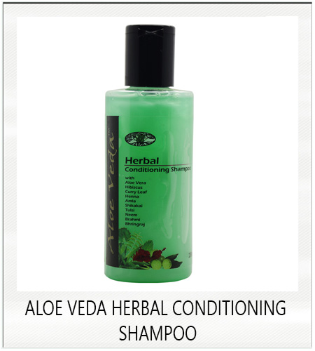 Aloe veda herbal conditioning shampoo