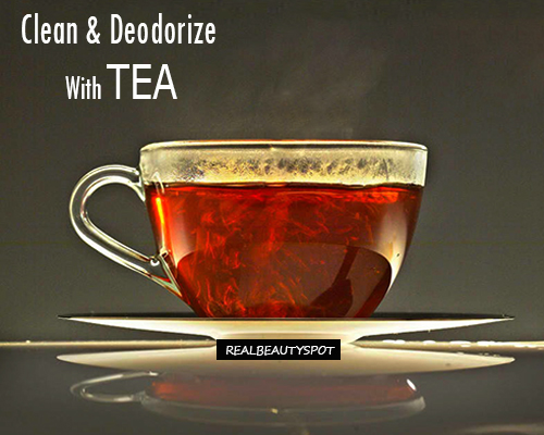 How to Clean and Deodorize With tea