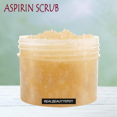 Aspirin scrub - Deep clean pores