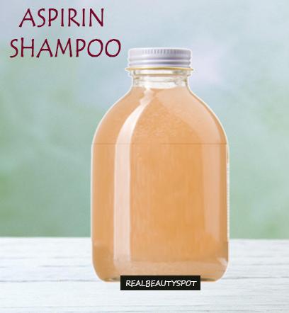 Aspirin Shampoo - Dandruff, itchy scalp remedy