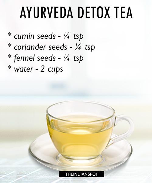 Ayurveda Detox Tea Recipe