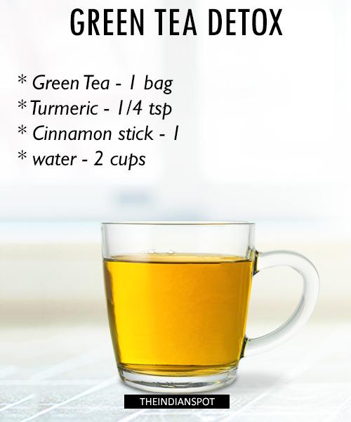 Green Tea Detox Recipe: