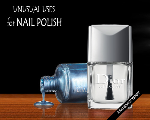 Clever uses for nail polish