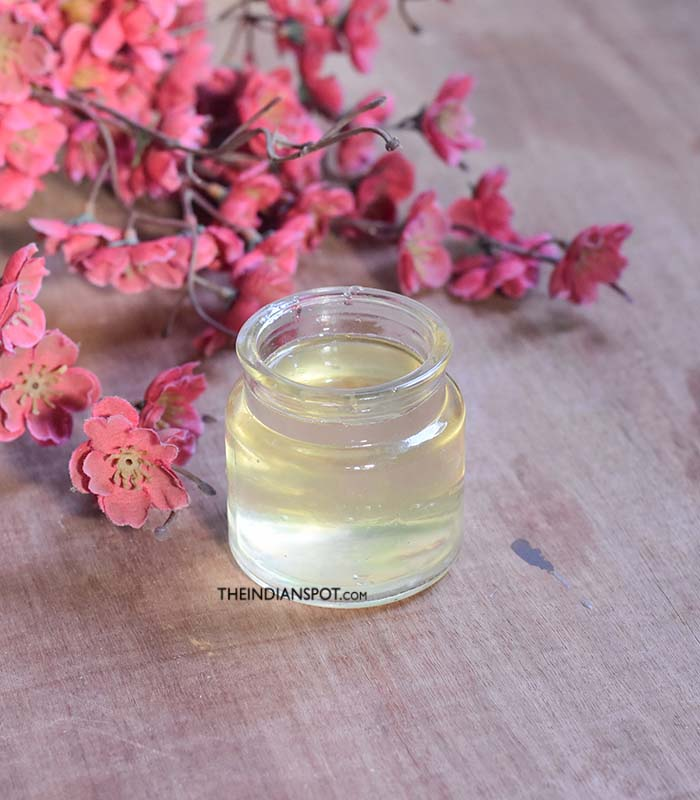 Natural stretch mark massage oil