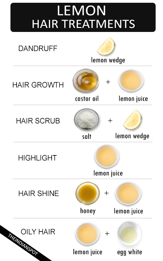 Best natural lemon hair treatments