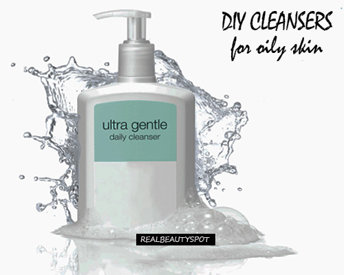 NATURAL CLEANSERS FOR OILY AND SENSITIVE SKIN